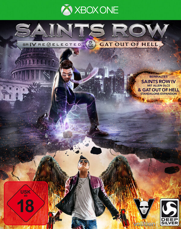 Saints Row IV - Re-elected & Gat Out of Hell XBox One Bild