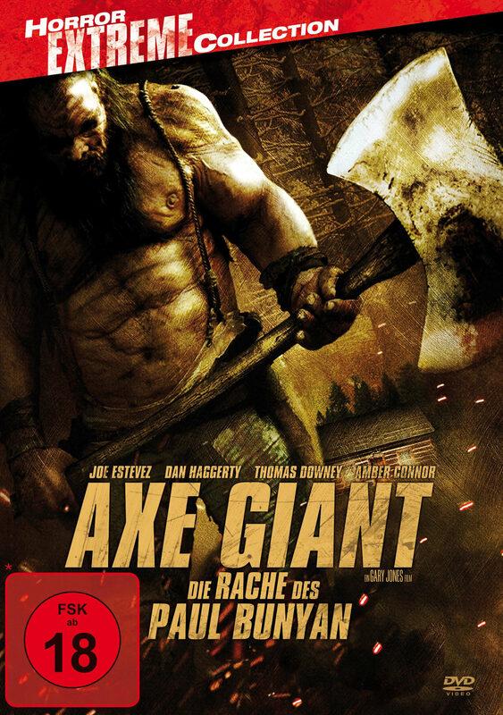 Axe Giant - Die Rache des Paul Bunyan DVD Bild