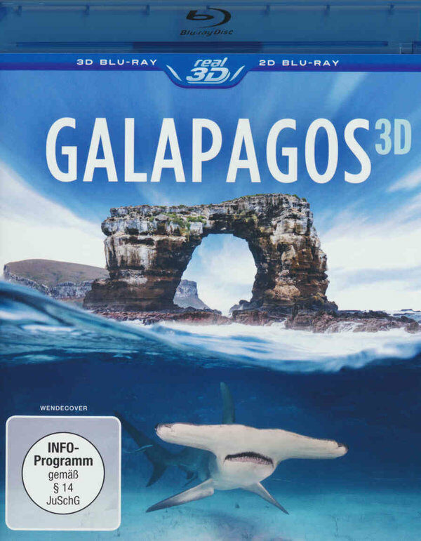 Galapagos 3D  (inkl. 2D-Version) Blu-ray Bild