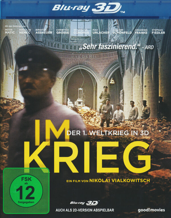 Im Krieg - Der 1. Weltkrieg in 3D  (inkl. 2D) Blu-ray Bild