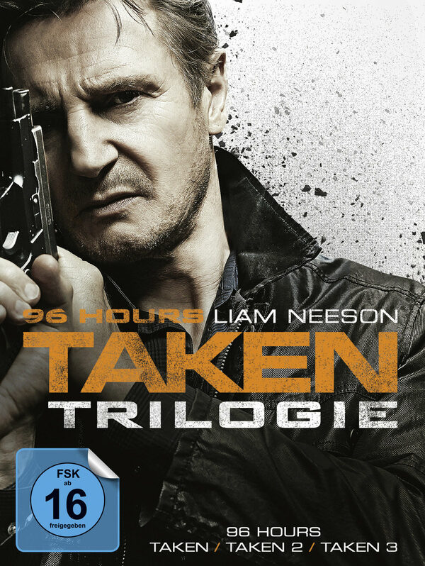 96 Hours - Taken 1-3  [3 DVDs] DVD Bild