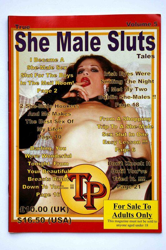 True She Male Sluts Tales Vol. 5 Magazin Bild