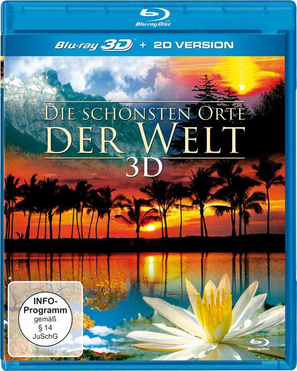 Die schönsten Orte der Welt  (inkl. 2D-Version) Blu-ray Bild