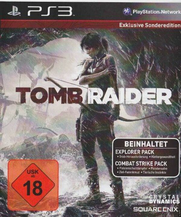Tomb Raider - Exklusive Sonderedition PS3 Bild