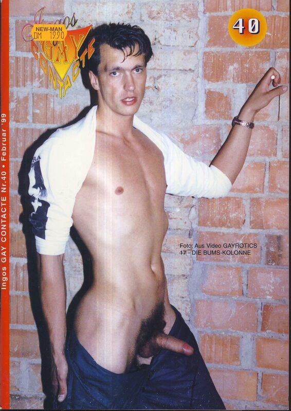 Gay Contacte No. 40 Februar 1999 Gay Buch / Magazin Bild