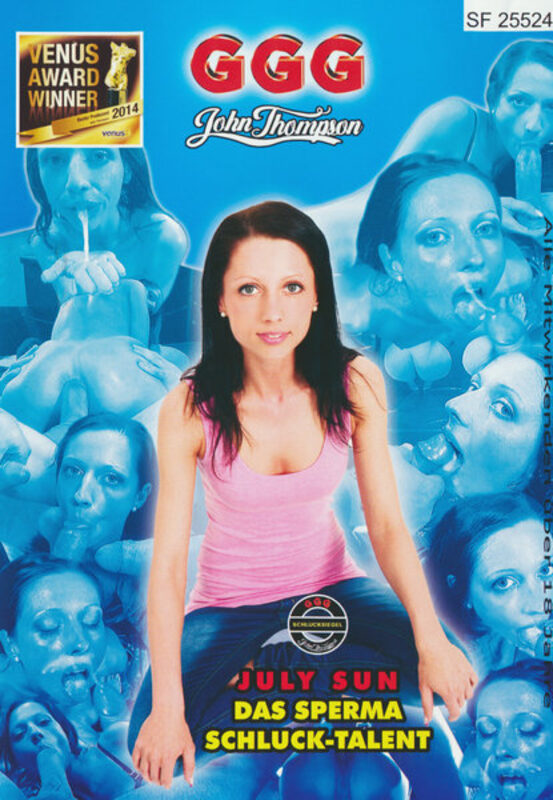 July Sun, das Sperma Schluck-Talent Porno | XJUGGLER DVD Shop
