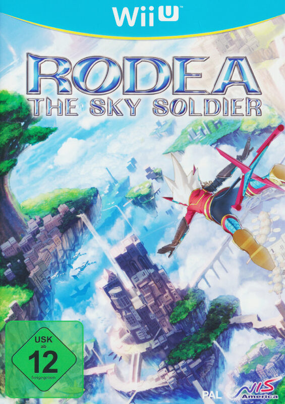 Rodea the Sky Soldier Special Edition (WU+Wii) Nintendo WII U Bild