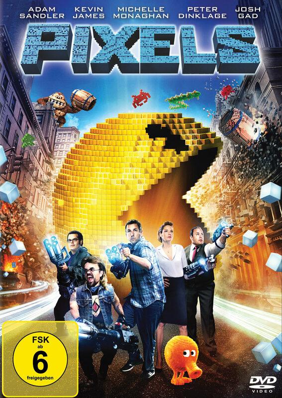 Pixels DVD Bild