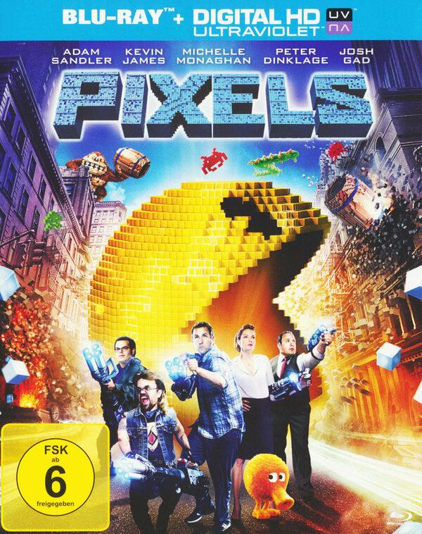 Pixels Blu-ray Bild