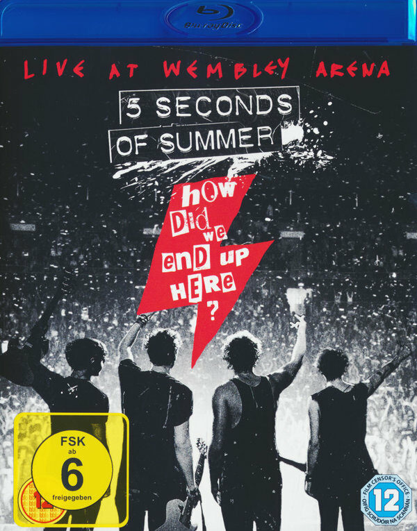 5 Seconds of Summer- How Did We End Up Here? Blu-ray Bild