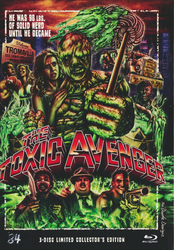 The Toxic Avenger  [LCE] [DC] (+ 2 DVDs) Blu-ray Bild