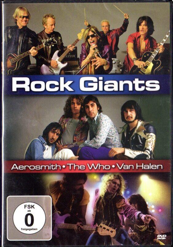 Rock Giants DVD Bild