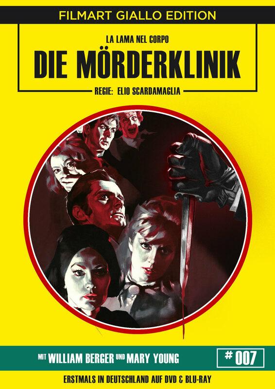 Die Mörderklinik - Uncut  [LE] (+ DVD) Blu-ray Bild