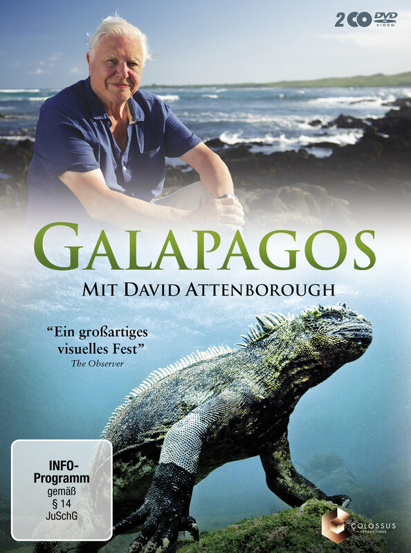 Galapagos mit David Attenborough  [2 DVDs] DVD Bild