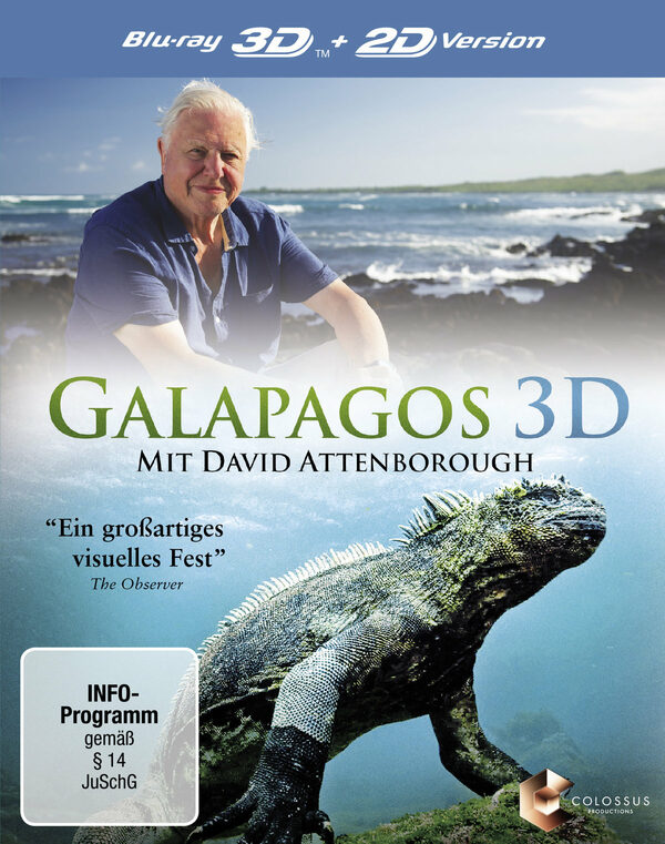 Galapagos mit David Attenborough  (inkl. 2D) Blu-ray Bild