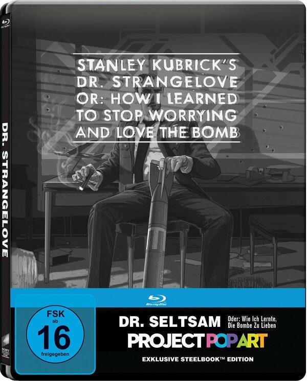 Dr. Seltsam oder: wie ich lernte, die Bombe zu lieben - Project Popart Steelbook Blu-ray Bild