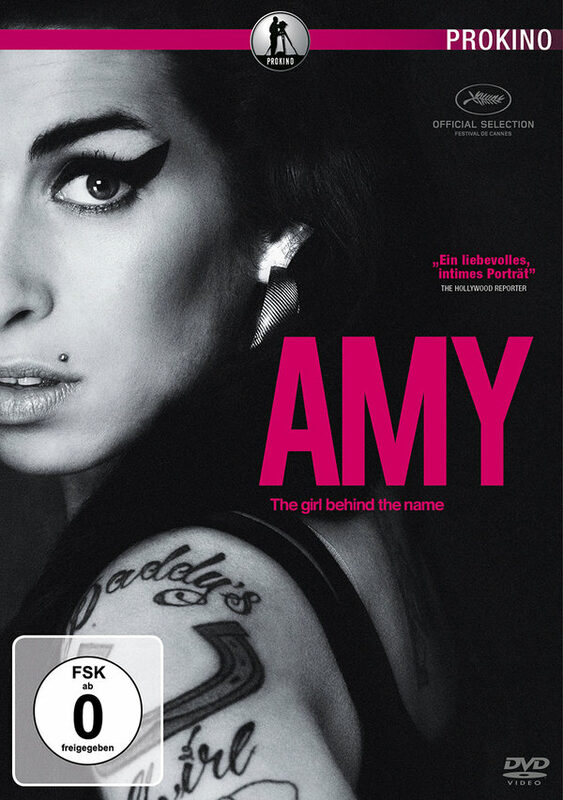 Amy - The girl behind the name DVD Bild