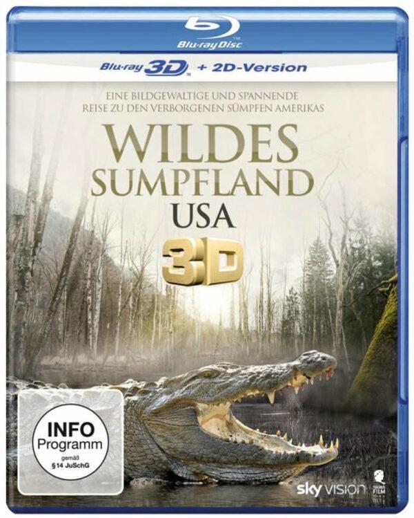 Wildes Sumpfland USA  (inkl. 2D-Version) Blu-ray Bild