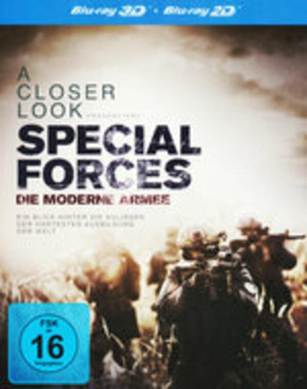 Special Forces - Die moderne Armee (inkl.2D) Blu-ray Bild