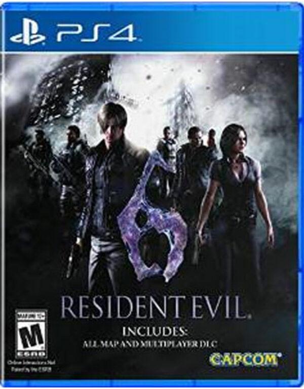 Resident Evil 6 - HD Edition US Playstation 4 Bild