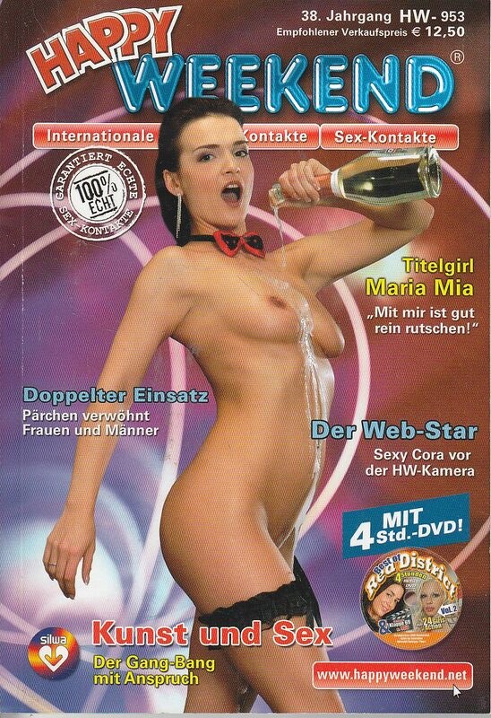 Happy Weekend 953 Magazin + DVD Magazin DVD-Magazin Bild