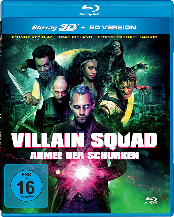 Villain Squad - Armee der Schurken Blu-ray Bild