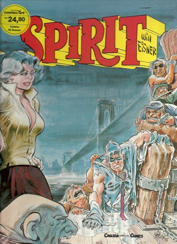 Spirit - Band 4 Comic Bild