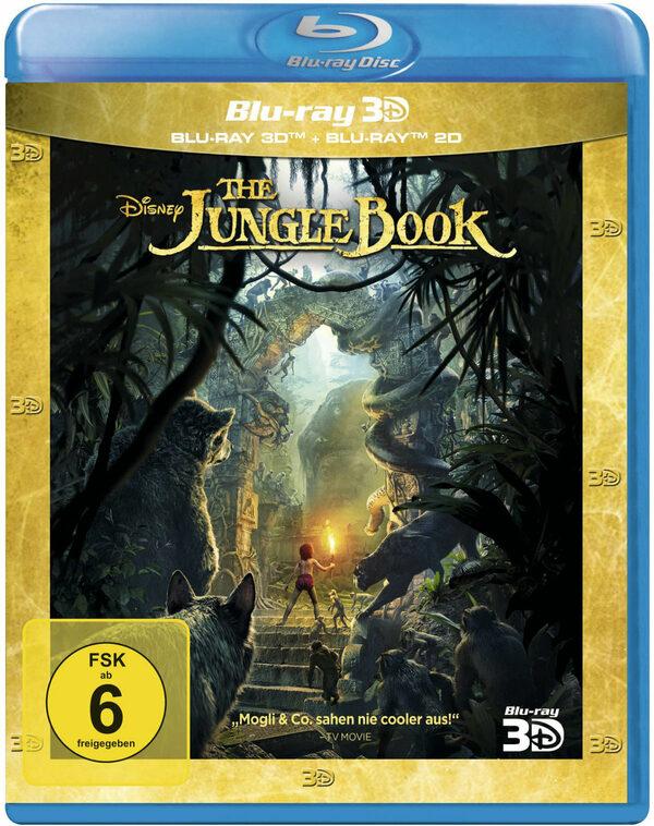 The Jungle Book  (+ BR) Blu-ray Bild