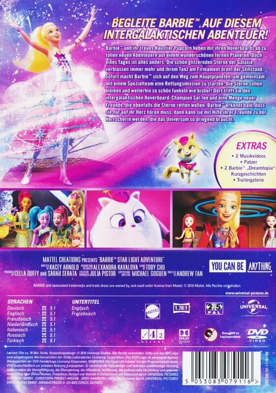 Barbie In Das Sternenlicht Abenteuer Stream