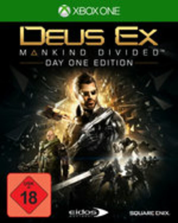 Deus Ex: Mankind Divided XBox One Bild