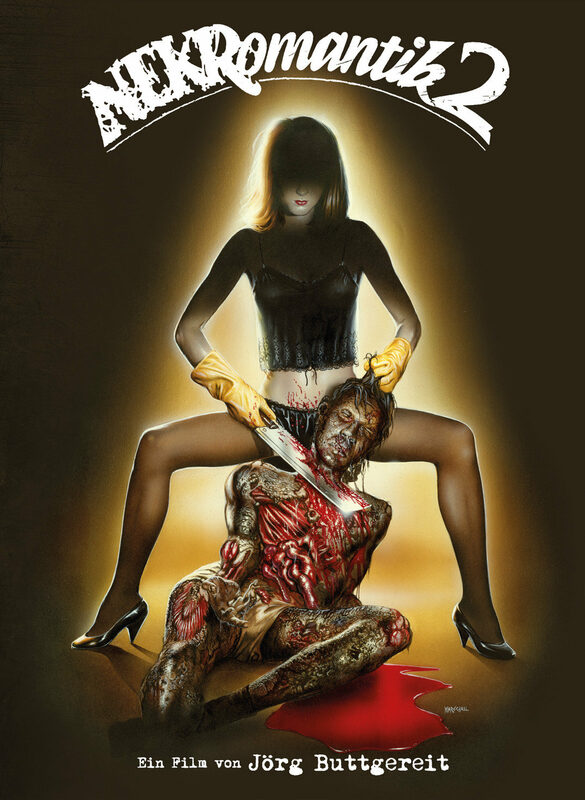 Nekromantik 2 - Limited Edition (Blu-ray+CD) Blu-ray Bild