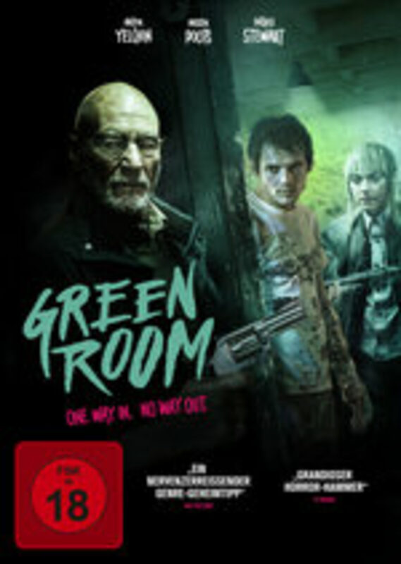 Green Room - One Way In. No Way Out. DVD Bild