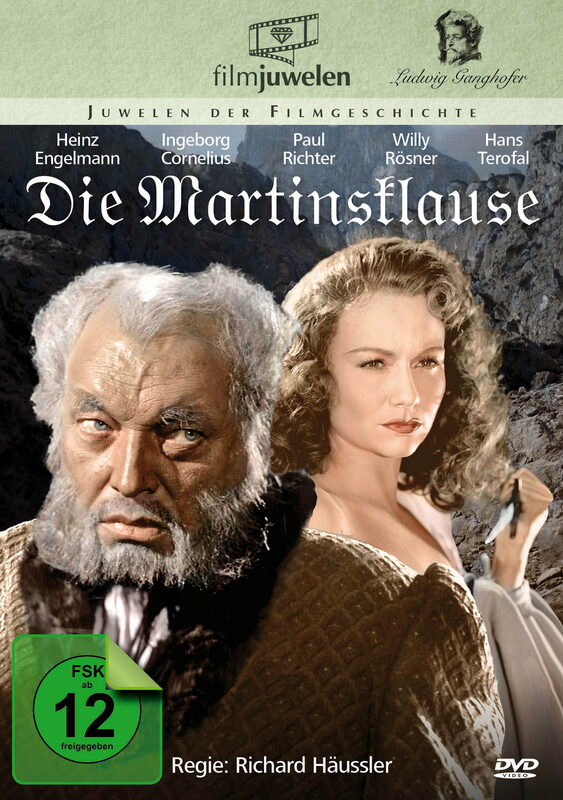 Die Martinsklause - Die Ganghofer Verfilmungen DVD Bild
