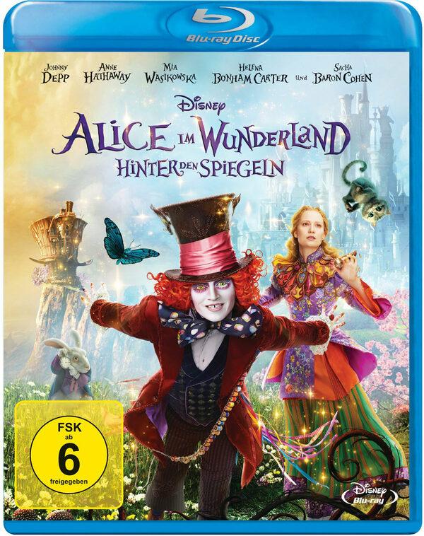 Alice im Wunderland - Hinter den Spiegeln Blu-ray Bild