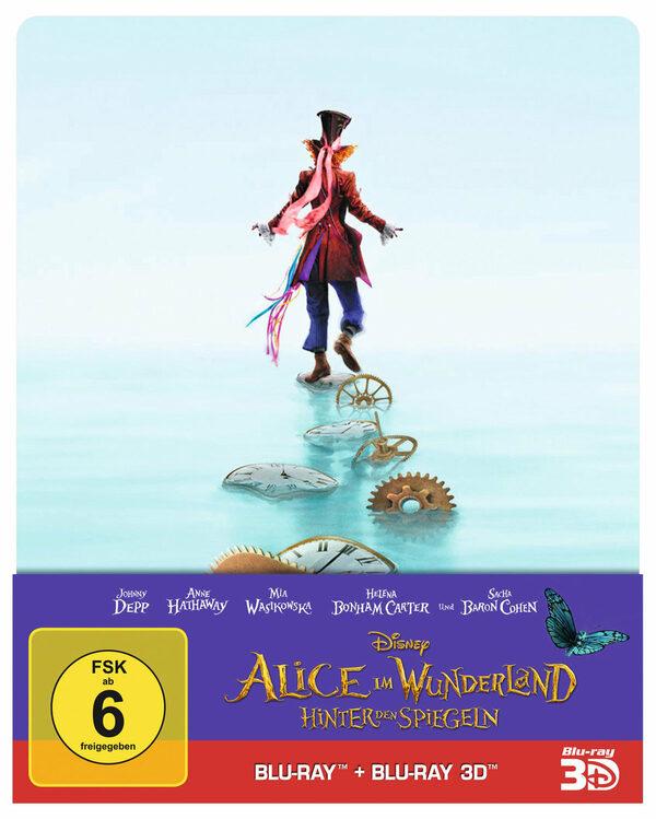 Alice im Wunderland 2 - Hinter den...(+ BR) [SB] Blu-ray Bild