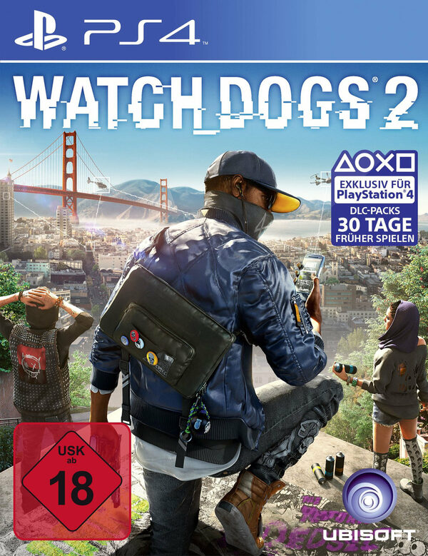 Watch Dogs 2 Playstation 4 Bild