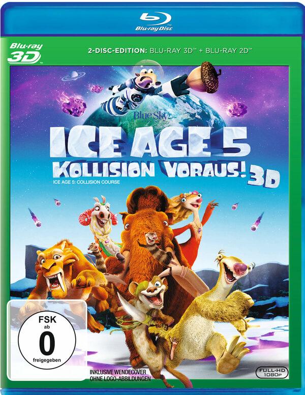 Ice Age 5 - Kollision voraus! (Blu-ray 3D + Blu-ray) Blu-ray Bild