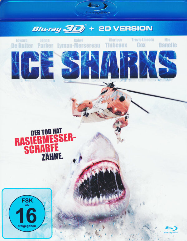 Ice Sharks  (inkl. 2D-Version) Blu-ray Bild