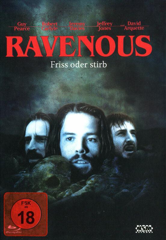 Ravenous - Friß oder stirb - Mediabook  (+ DVD) Blu-ray Bild