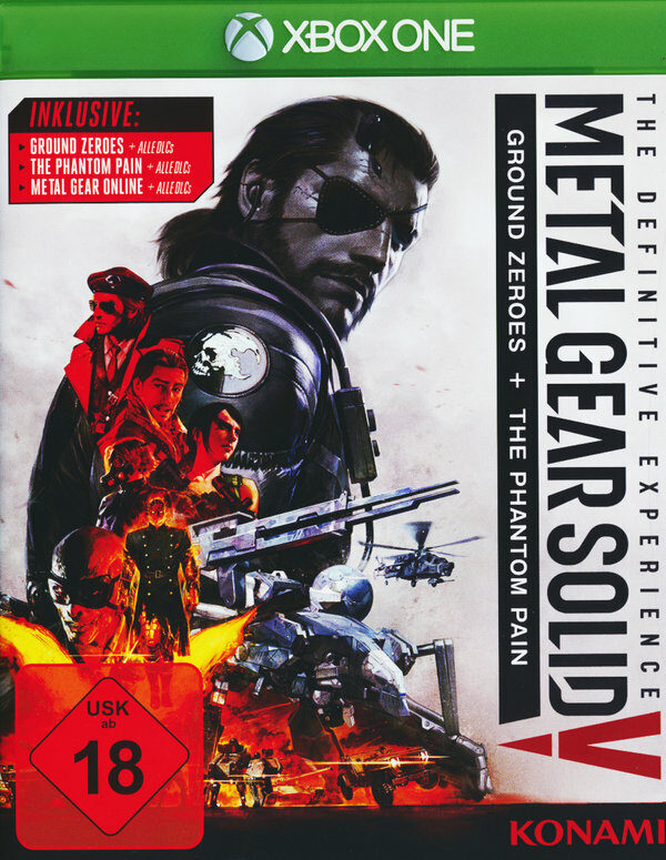 Metal Gear Solid V: The Definitive Edition XBox One Bild