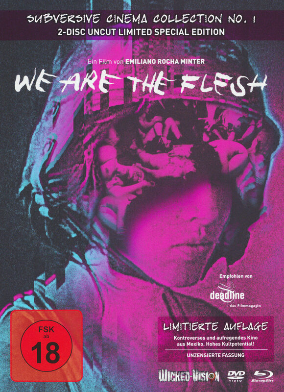 We Are The Flesh - Limited 444 BluRay&DVD Mediabook - Cover A Blu-ray Bild