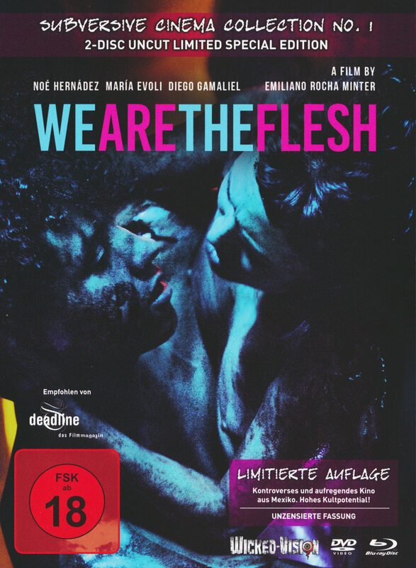 We Are The Flesh Mediabook BluRay&DVD Cover B (limitiert auf 333 Stück) Blu-ray Bild