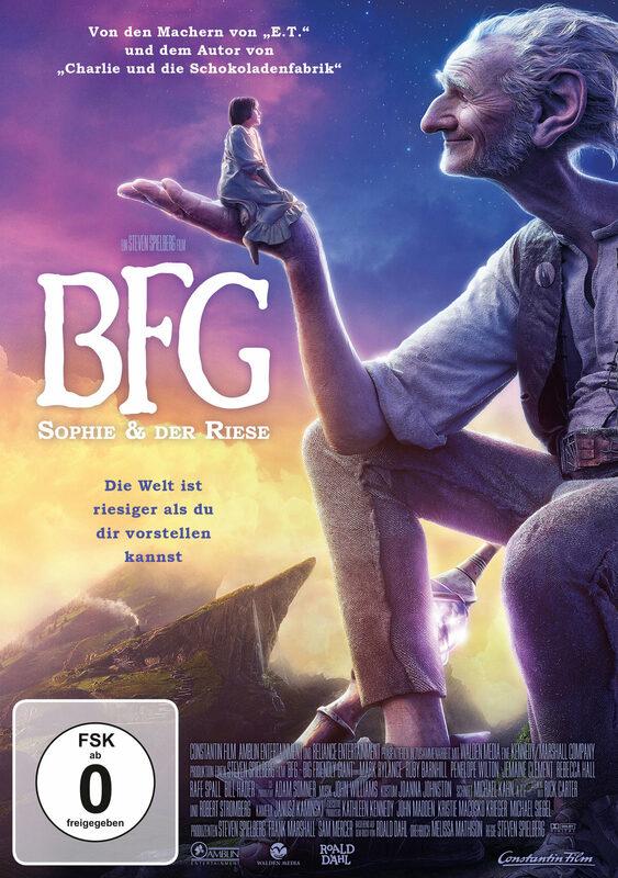BFG - Sophie & der Riese DVD Bild