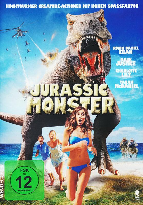 Jurassic Monster - Uncut DVD Bild