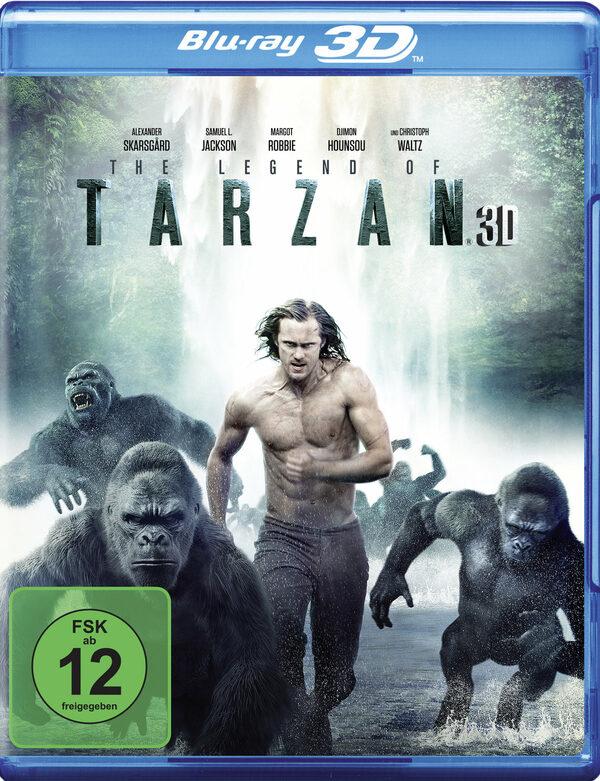 Legend of Tarzan  (+ Blu-ray) Blu-ray Bild