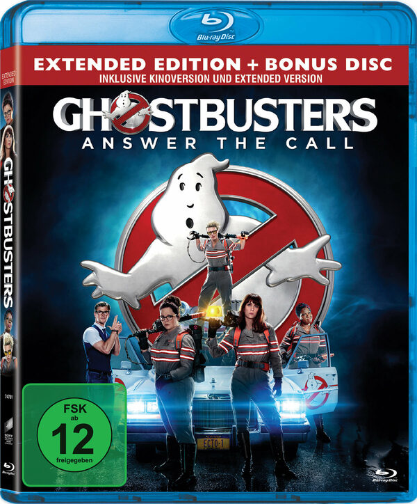Ghostbusters - Answer The Call  [2 BRs] Blu-ray Bild