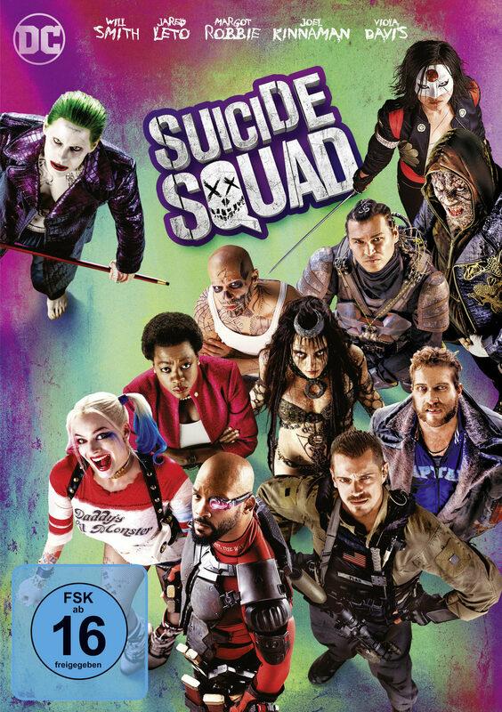 Suicide Squad DVD Bild