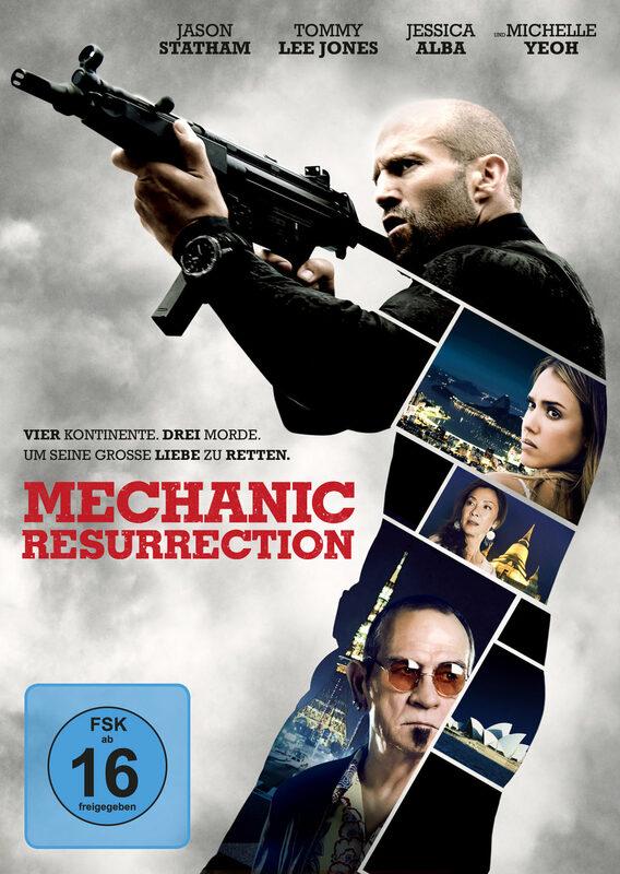Mechanic: Resurrection DVD Bild