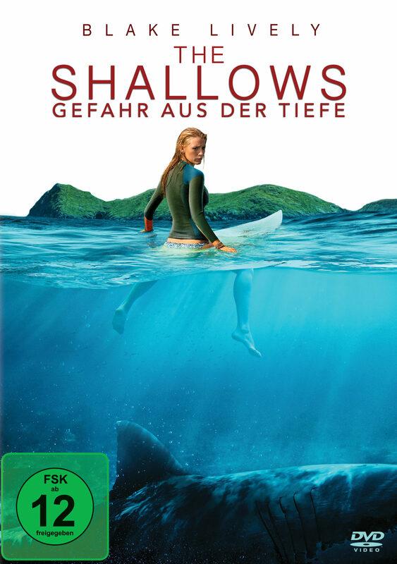 The Shallows - Gefahr aus der Tiefe DVD Bild