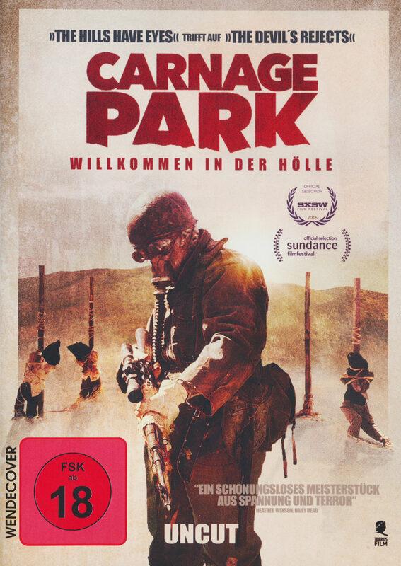 Carnage Park - Uncut DVD Bild